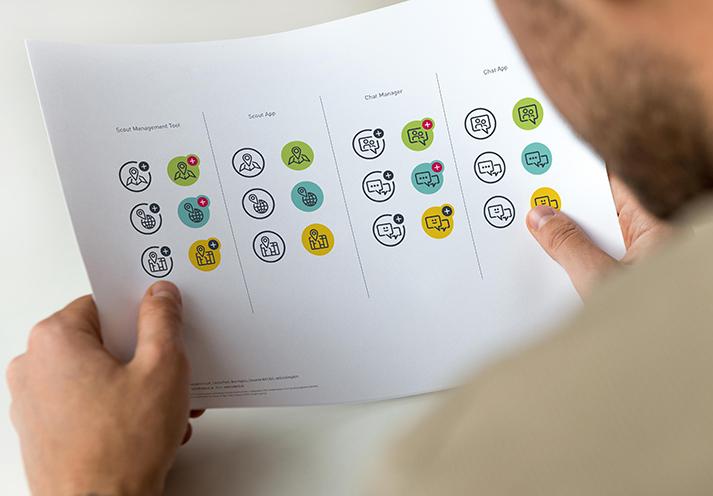 UK Power Network final icon design examples portfolio image